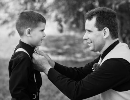 wedding-photography-father-helping-son