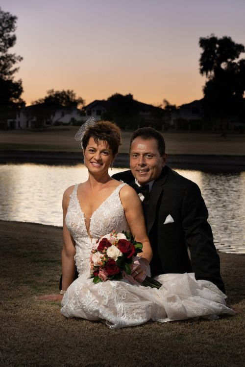 Wedding-couple-sunset-ocotillo-golf-club-chandler-az